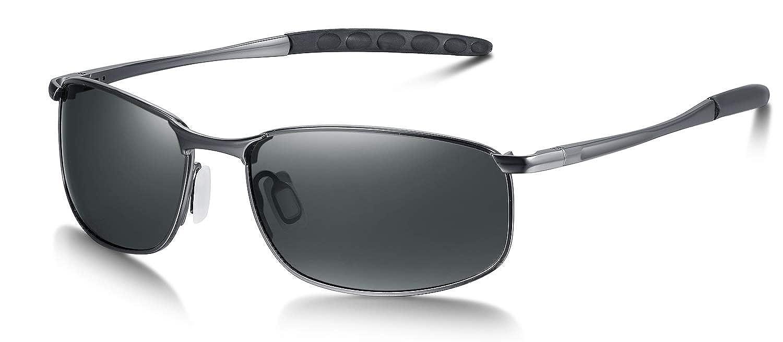 WHCREAT Men's Driving Polarized Sunglasses with UV 400 Protection