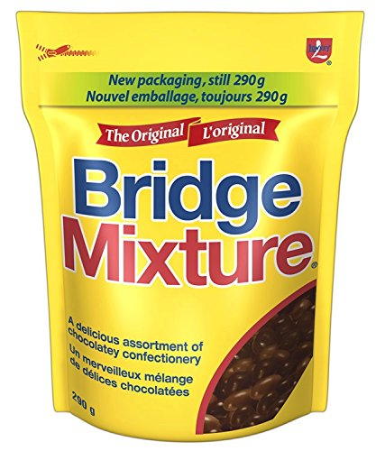LOWNEY Chocolate Candy Bridge Mixture, 290 Gram