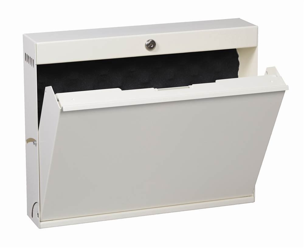 LapTop Locker w Key Lock (Ivory)