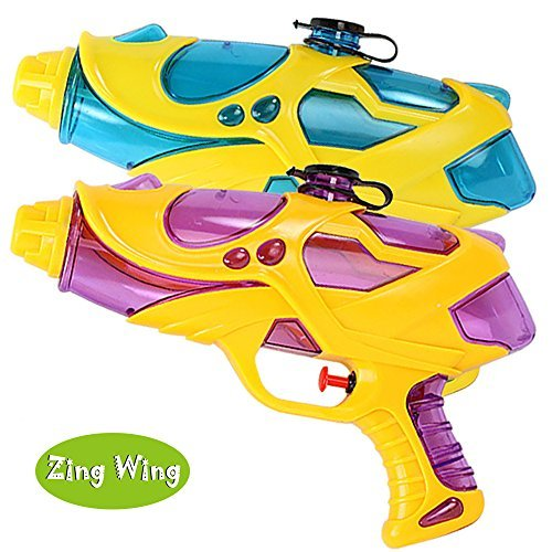 Squirt Guns, 2 Pack Water Guns for Kids Girls Boys ,Water Blaster Pistol Shooters Launcher Gun Hot Summer Beach Pool Lawn Squirt Games