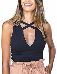 Fashion Women's Sexy Cami Tank Tops Crop Top Strap Shirts
