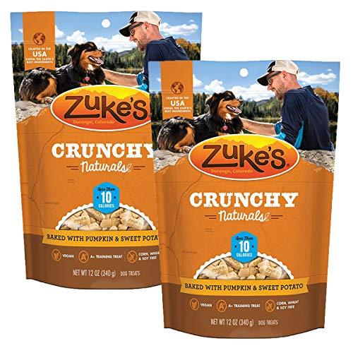 (Zuke's Crunchy Naturals 10s Dog Treats, Pumpkin & Sweet Potato-2 Pack)