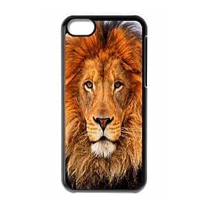 IPhone 5C Case, Lion 5 Case for IPhone 5C {Black}