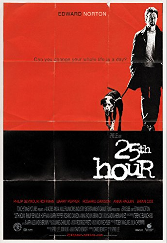 25TH HOUR MOVIE POSTER 2 Sided ORIGINAL ROLLED 27x40 EDWARD