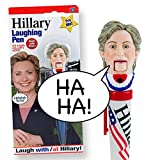Hillary Clinton Laughing Pen - Mouth Moves - Hillary's REAL LAUGH - Funny Gift for for Hillary & Donald Trump Fans - Superior Audio Quality - Replaceable Batteries Included - It's HILLarious