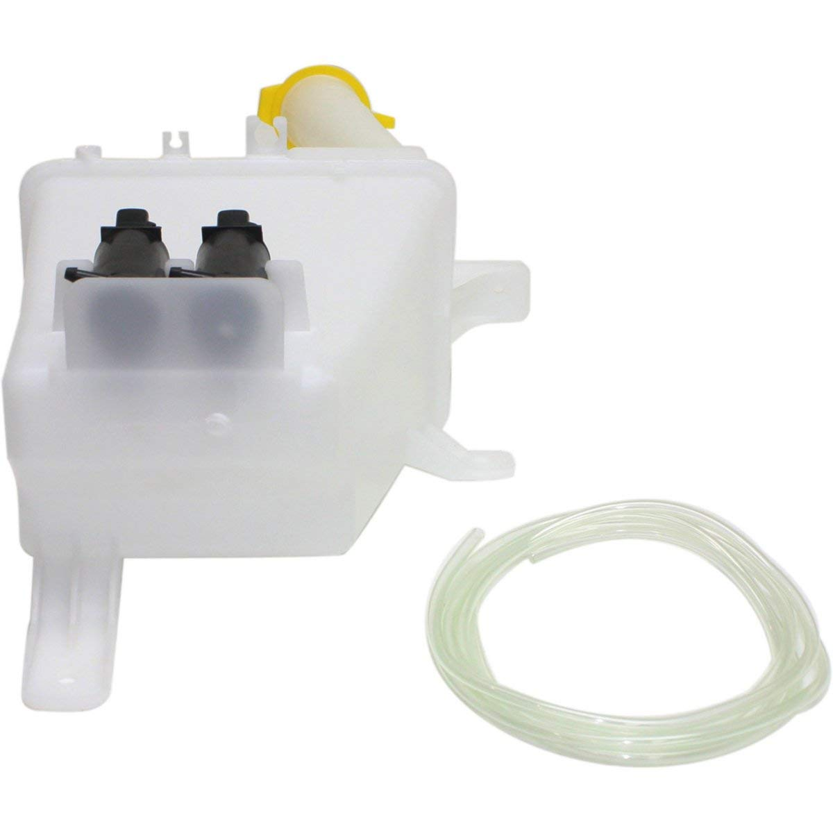Inlet and Cap New Windshield Washer Tank Assembly For 2004-2007 Chevrolet Aveo /& 2006-2008 Aveo5 With Dual Pump Hatchback GM1288179 96543076