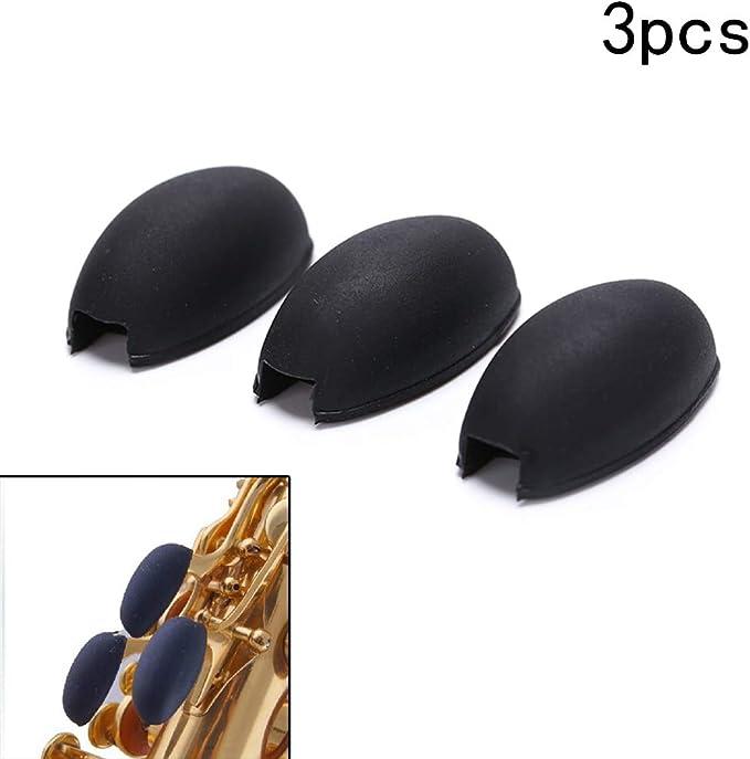 Sourcingmap Lot de 3 rehausseurs de cl/és en caoutchouc pour saxophone