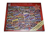 Wish You Were Here 550 Piece Jigsaw Puzzle