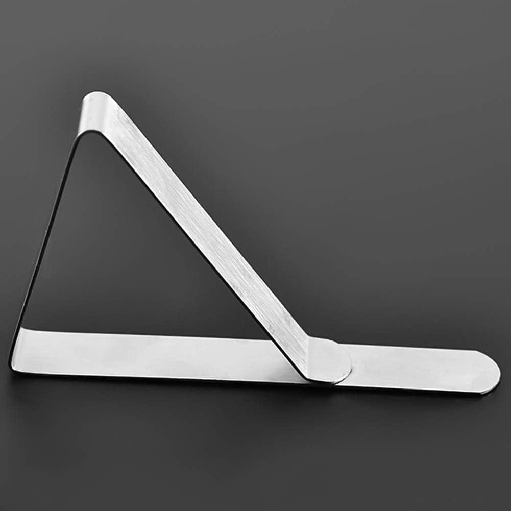 Confezione da 18 mollette per tovaglia tendoni e Matrimoni DaricowathX da Picnic in Acciaio Inox Flessibili Argento Ideali per PIC-nic