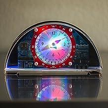 Evil Mad Science,Bulbdial Clock Kit - Clear/Black