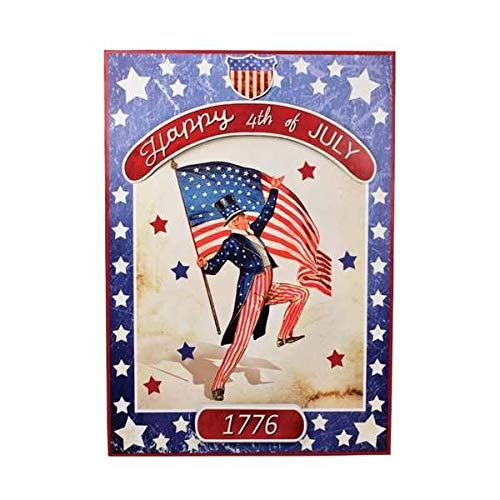 (Sir Holiday Americana Tin Sign)