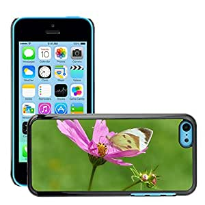 Super Stella Slim PC Hard Case Cover Skin Armor Shell Protection // M00144901 Butterfly Papilio Insect Animal // Apple iPhone 5C
