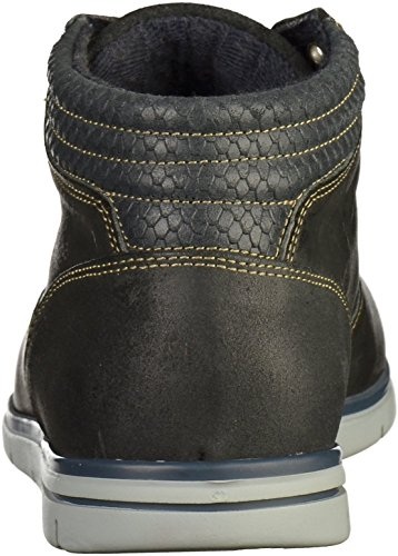 Mustang 4879-503 Herren Sneakers Grau(Anthrazit)
