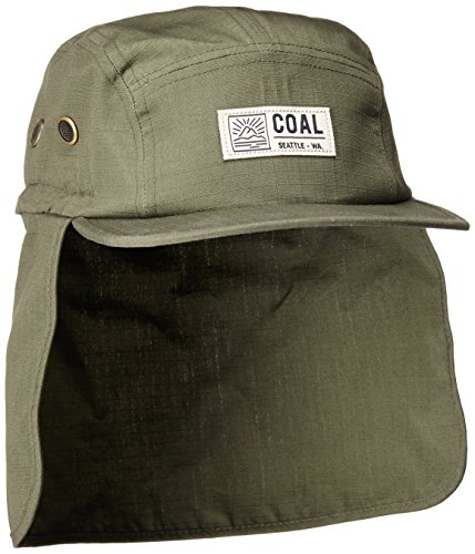 The Trek 5 Panel Hat with Convertible Neck Protector Cap