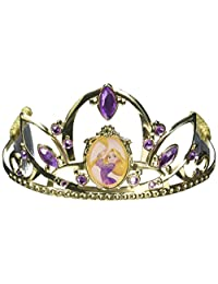 Disguise Costumes Rapunzel Deluxe Disney Princess Tangled Tiara, One Size Child, One Color