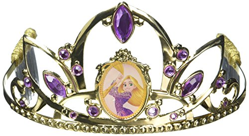 Rapunzel Deluxe Disney Princess Tangled Tiara, One Size Child for $<!--$9.99-->
