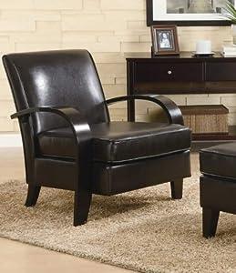 Amazon.com: Roundhill Furniture Wonda Bonded Leather ...