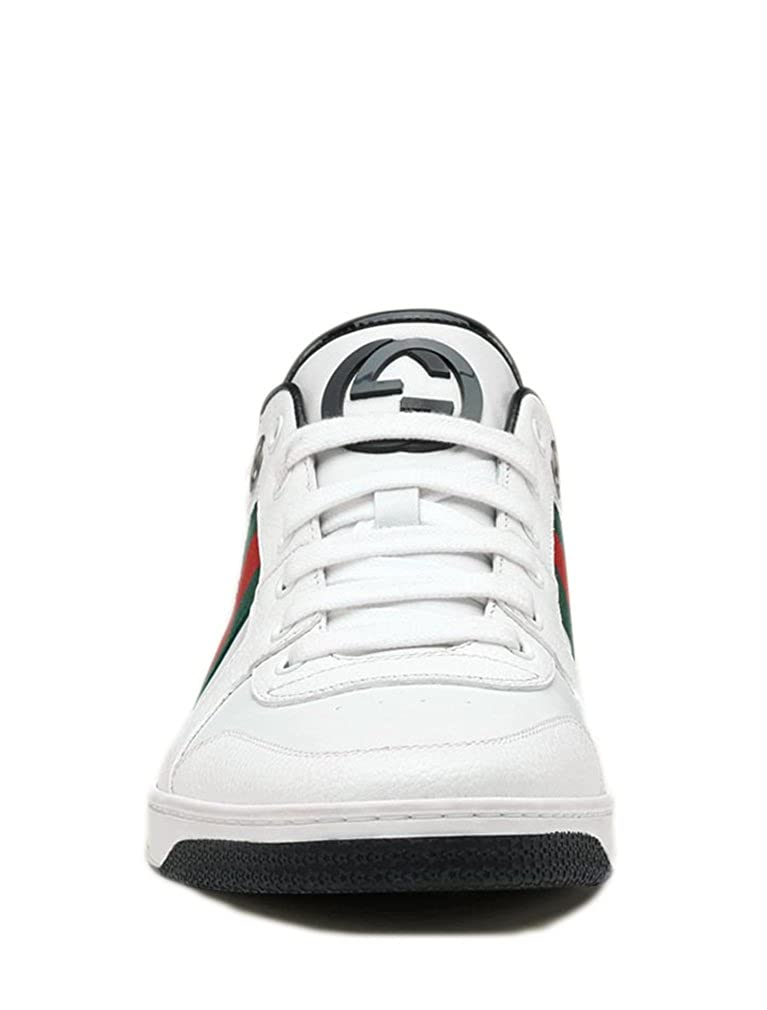 9d8e6c8167c7c Gucci Men s Lace Up Trainer with Interlocking G   Web Detail