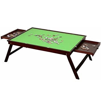 Dapu Wooden Jigsaw Puzzle Table For Adults Kids Large Portable