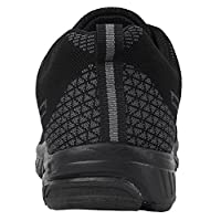 iLoveSIA Men's Trail Running and Walking Shoes - back view