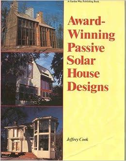 Book Award-Winning Passive Solar House Designs