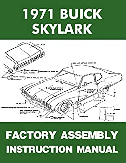 1971 buick skylark factory assembly manual covers custom sportwagon dragster wiring diagrams turn on 1 click ordering for this browser