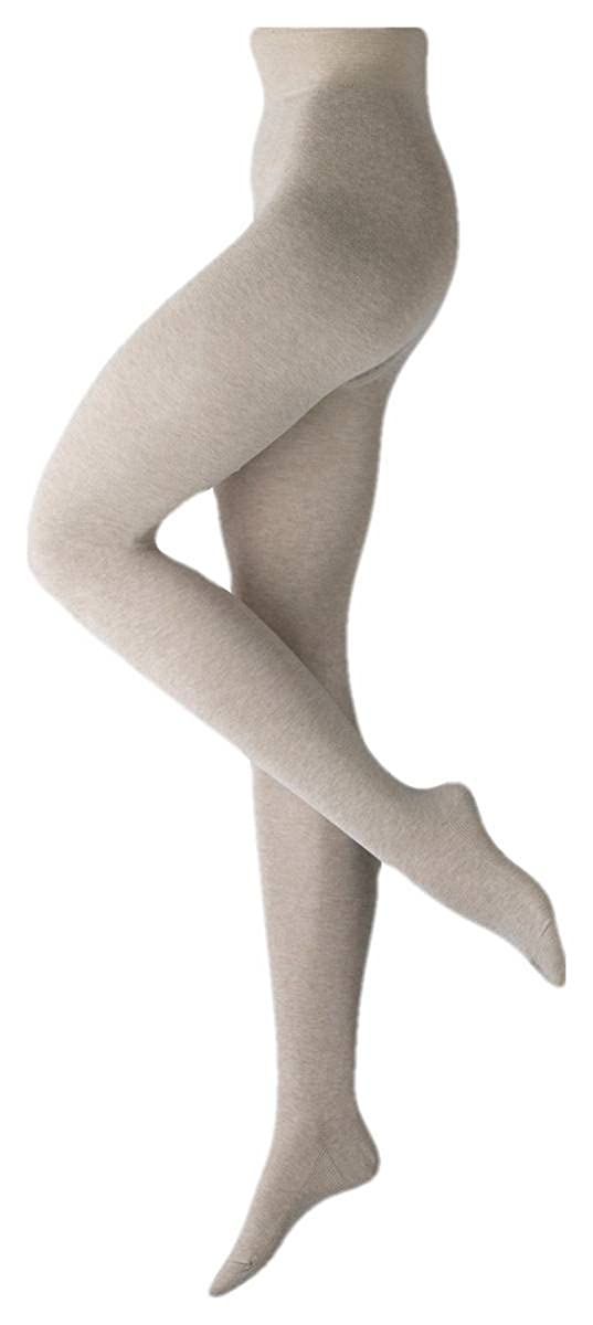 0893f4af193 Falke Womens Family Cotton Tights - Sand Cream at Amazon Women s Clothing  store