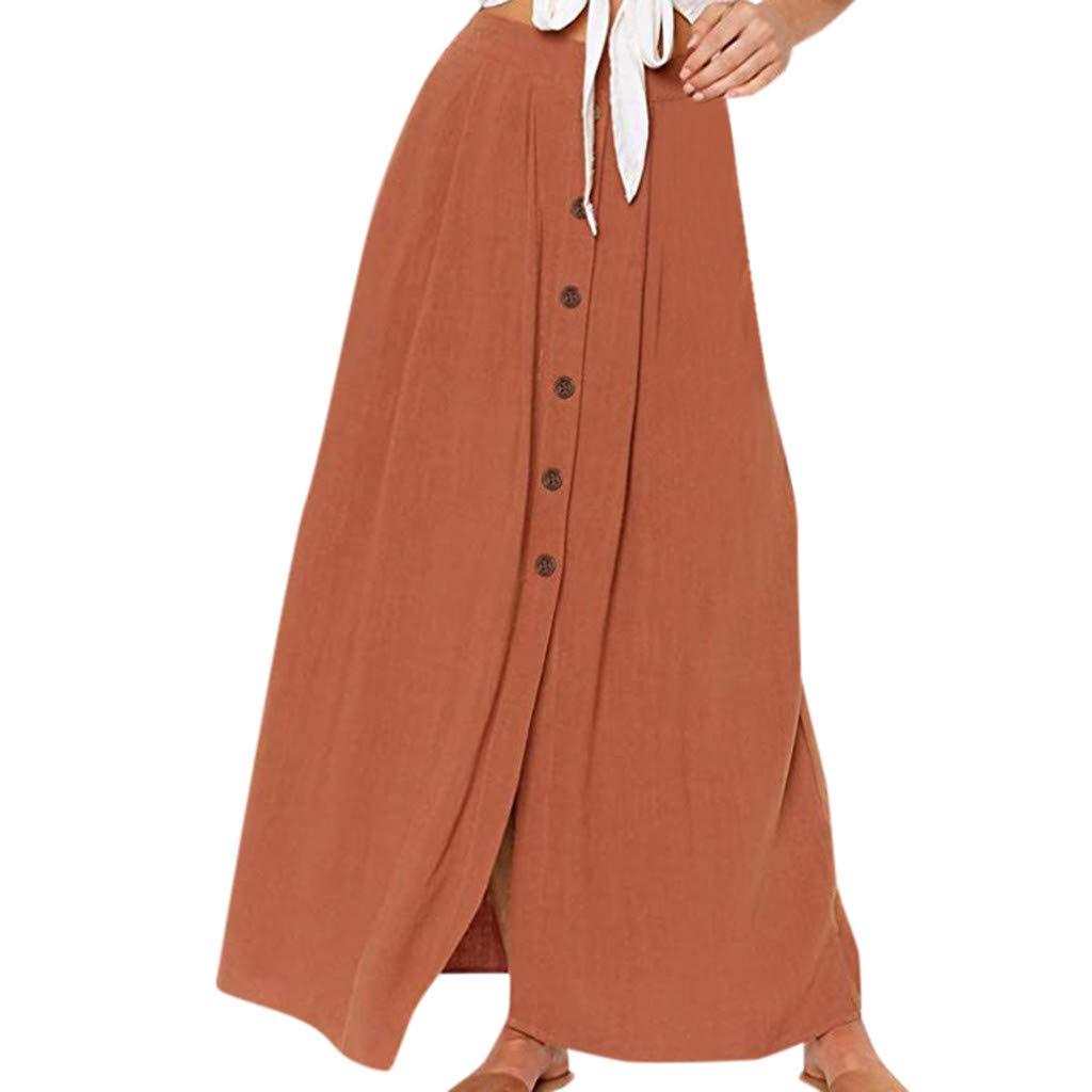 Faldas largas Casual Mujer Tallas Grandes/Faldas largasmujer ...