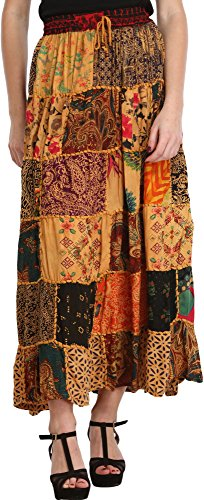 Exotic India Gujarati Skirt Patch
