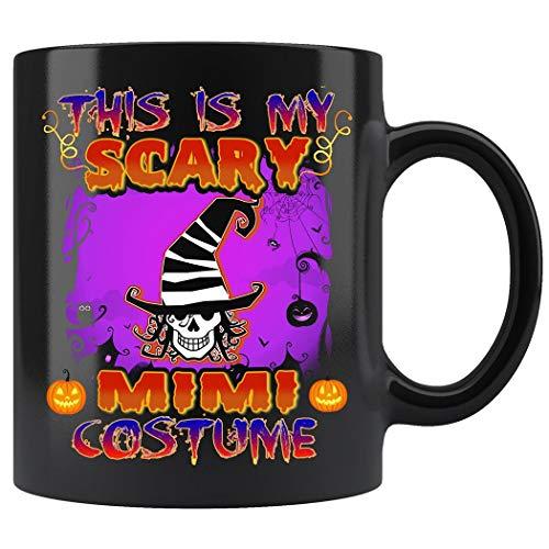 This Is My Scary Mimi Costume Halloween Mug Coffee Mug 11oz Gift Tea Cups -