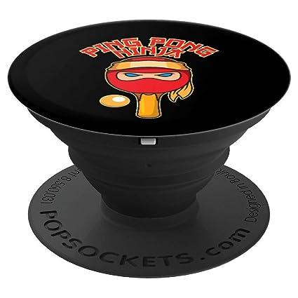Amazon.com: Ping Pong Ninja Funny Table Tennis Ninja Gift ...