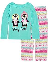 Toddler & Girls Stay Cool Penguin Pajama 2 Piece Nordic Sleep Set