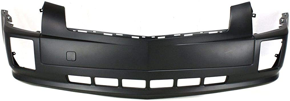 Front Bumper Cover For 2004-2009 Cadillac SRX w// fog lamp holes Primed