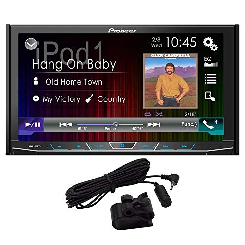 PIONEER MVH-300EX Double Din Digital Multimedia Video Receiver with 7