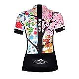Aogda Cycling Jersey Women Bike Shirts Biking Bib