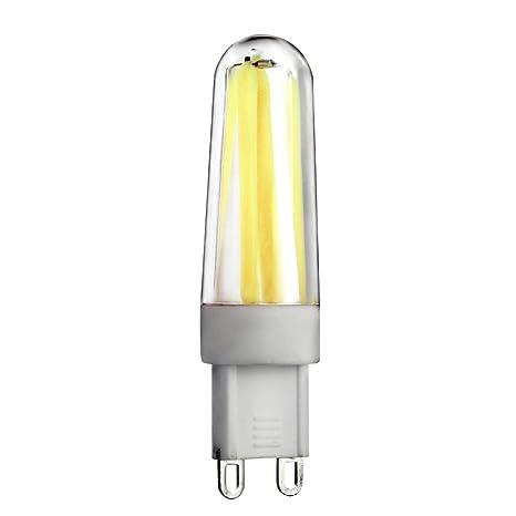 Bombillas, welsun G9 bombilla LED regulable filamento BI-PIN Base 4 x cob LED