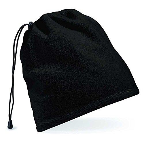 y del c del del Beanie grueso Beechfield Black suave sombrero Charcoal invierno paño wzyatq4