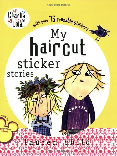 Haircut Sticker Book Charlie Lola product image
