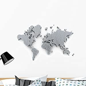 Amazon wallmonkeys world map wall decal peel and stick graphic wallmonkeys world map wall decal peel and stick graphic wm347660 36 in w x 24 gumiabroncs Gallery