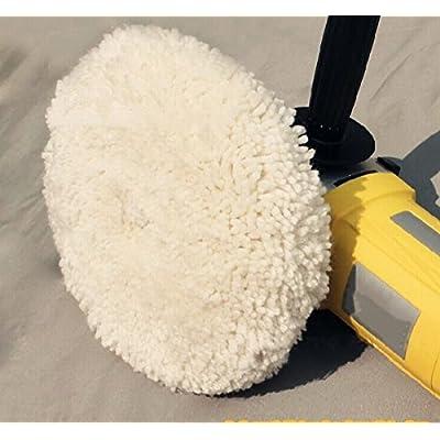 Gracefur Hook and Loop 100% Wool Polishing Buffing Pad 7