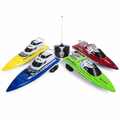 Amazoncom Boys ThunderBolt Remote Control Boat Colors Vary Toys