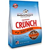 Stella & Chewy's Freeze-Dried Raw Carnivore Crunch Beef Treats for Dogs, 3.25 oz