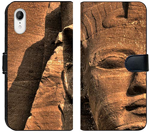 - Luxlady iPhone XR Flip Fabric Wallet Case Image ID: 31056262 Close up of The Ramses II face at The Entrance of The Abu Simbel Temple