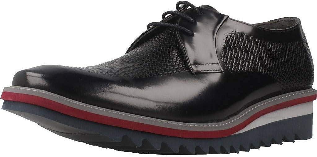 TALLA 41 EU. Zapatos de Cordones para Hombre, Color Azul (Azul), Marca ANGEL INFANTES, Modelo Zapatos De Cordones para Hombre ANGEL INFANTES 16057A Azul