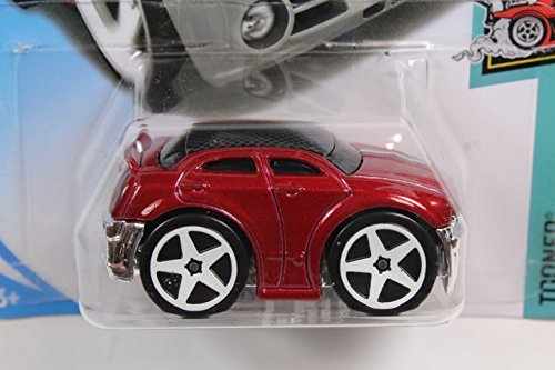 Chrysler Import - Hot Wheels 2018 # 030 Chrysler 300C (Tundo) Dark Red [parallel import goods]