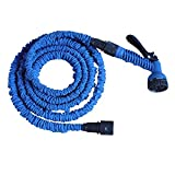 Generic 50 Feet Expanding Magic Hose Pipe Expandable Garden Water Hose with 7 Way Nozzle and Spray Gun