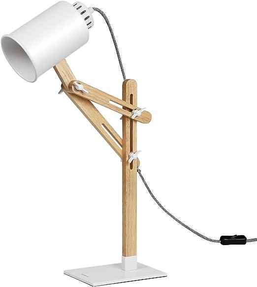 Schwenkarm Tomons Schreibtischlampe E27 LED Glühbirne Lampe Tischlampe Grün