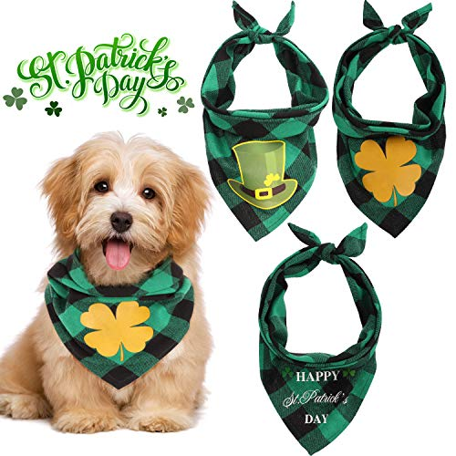 St. Patrick's Day Dog Bandanas