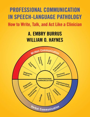 Professional Communication in Speech Language Pathology: How to Write, Talk, and Act Like a Clinician