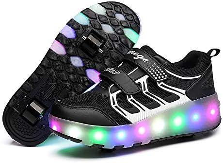 AIkuass Chargable Roller Wheeled Sneaker